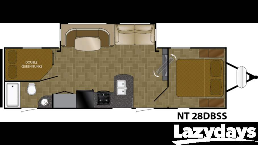 2016 Heartland North Trail 28dbss For Sale In Tampa Fl