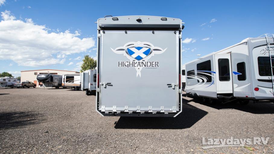 2017 Highland Ridge RV Highlander 39RGL
