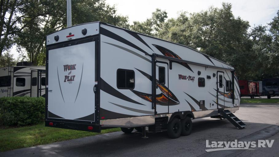 2019 Forest River Work and Play Toy Hauler 30QBS