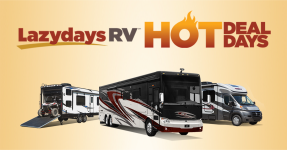 Summer Is Heating up with Hot Deal Days at Lazydays RV