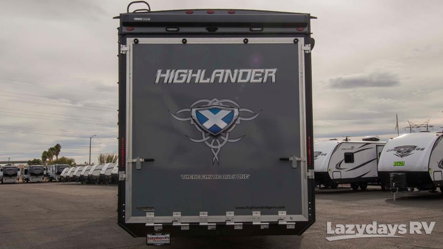 2019 Highland Ridge RV Highlander 383H