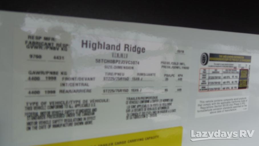 2018 Highland Ridge RV Ultra Lite UF2804RK