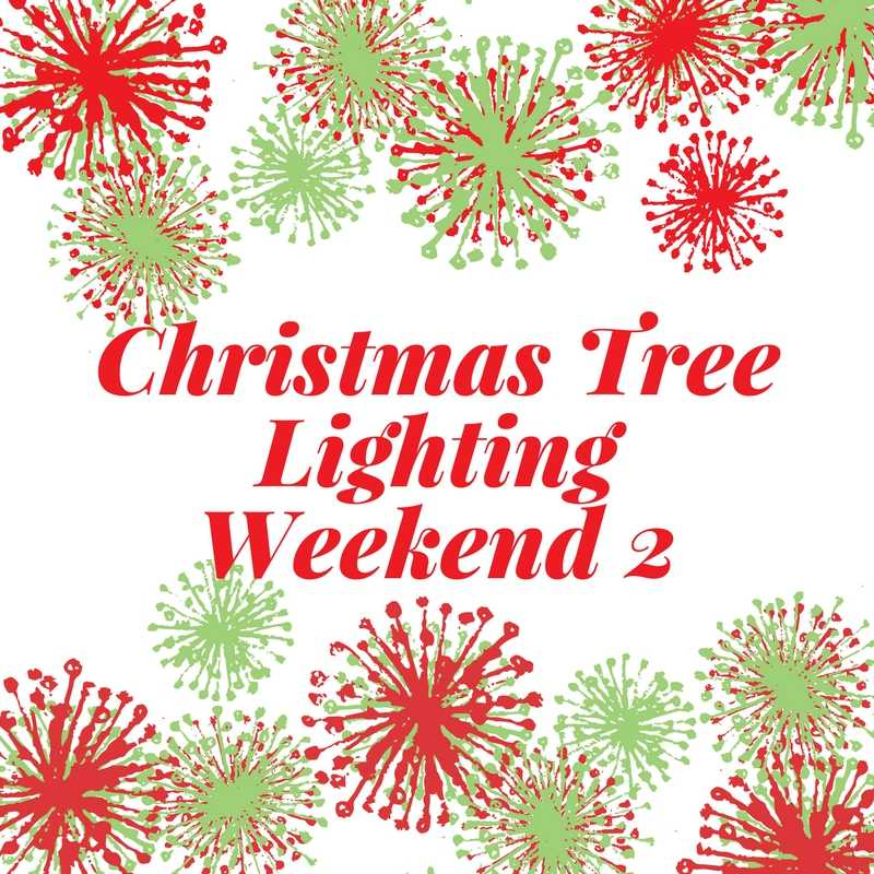 Christmas Tree Lighting Weekend 2