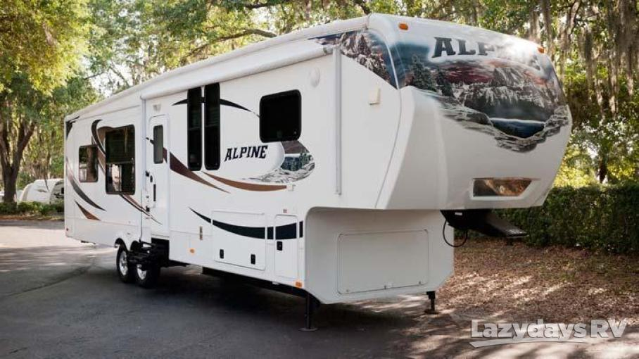 2012 Keystone RV Alpine 3500RE
