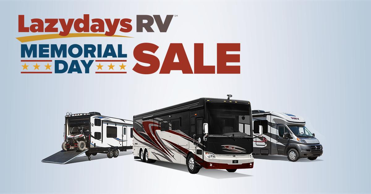 Lazydays RV Memorial Day Sale