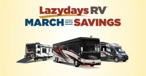 March Into Savings with Clearance Pricing at Lazydays RV!