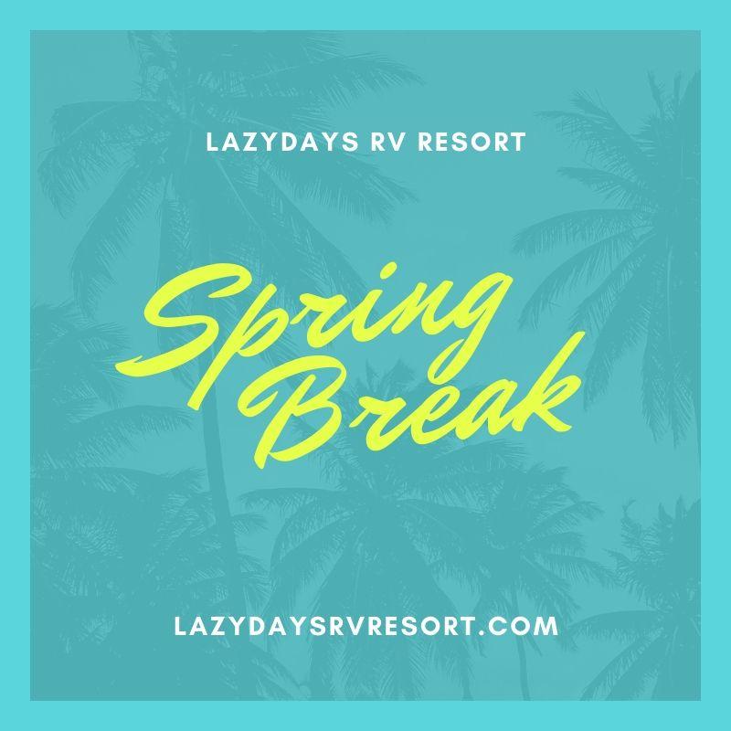 Spring break bash!