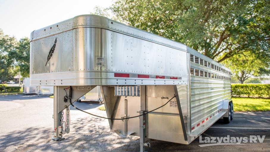 2016 Featherlite Stock Trailer 8127