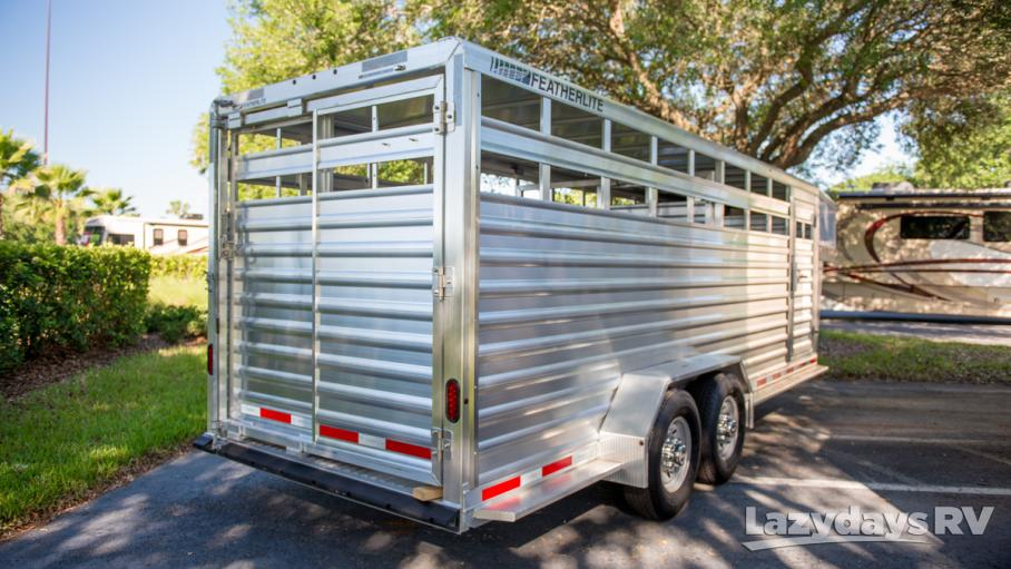 2016 Featherlite Stock Trailer 8117