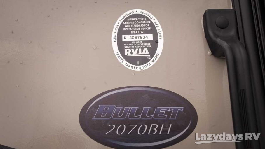 2016 Keystone RV Bullet Ultra Lite 2070BH