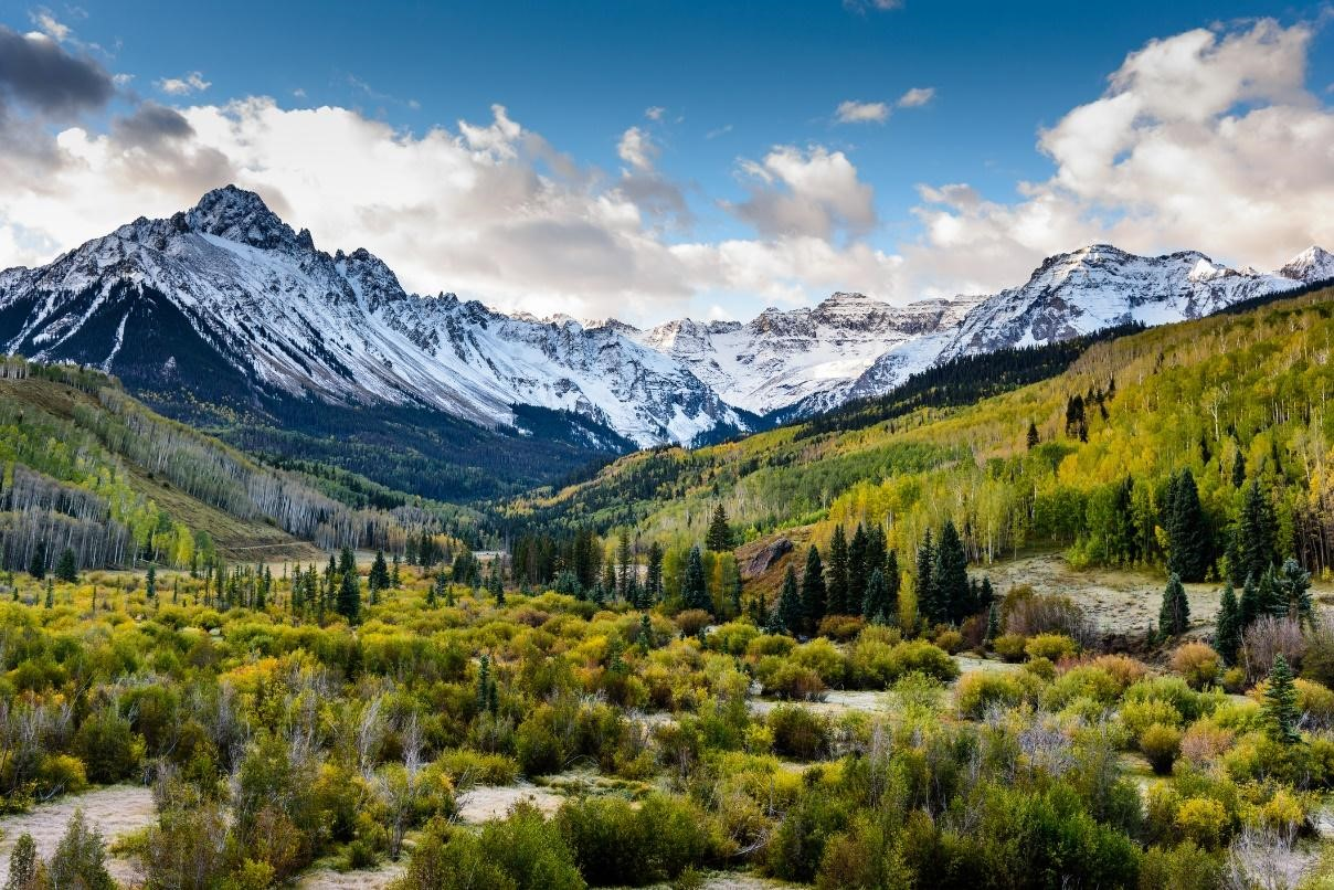 Gorgeous valley in Colorado