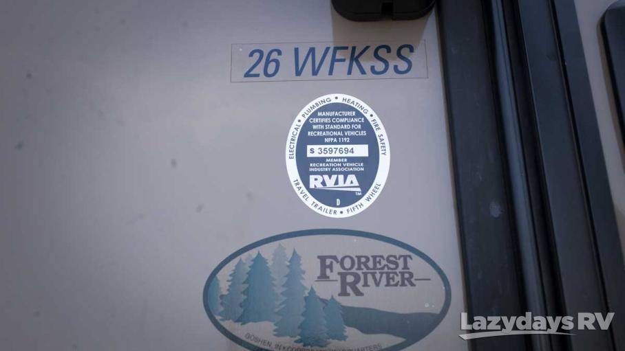 2015 Forest River Flagstaff V-Lite 30WFKSS