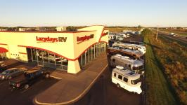 State-of-the-Art Service Facility with 28 Bays at Lazydays RV of Minneapolis