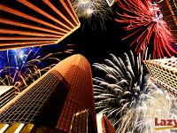 fireworks in the city lazydays