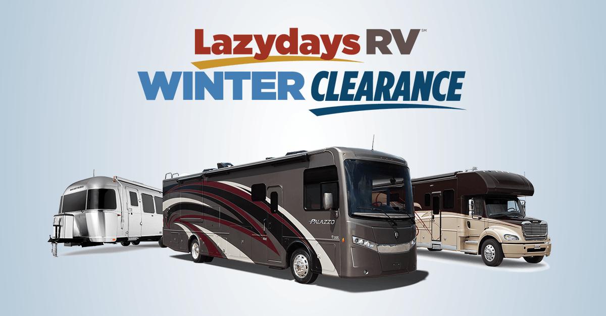 Lazydays RV 2019 Winter Clearance Sale