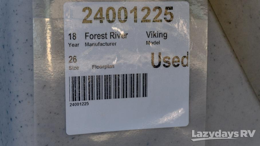 2018 Forest River Viking 2485ST