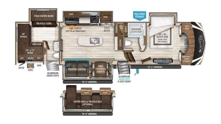 5 Unique Rv Floor Plans Every Rver Should See Lazydays Rv