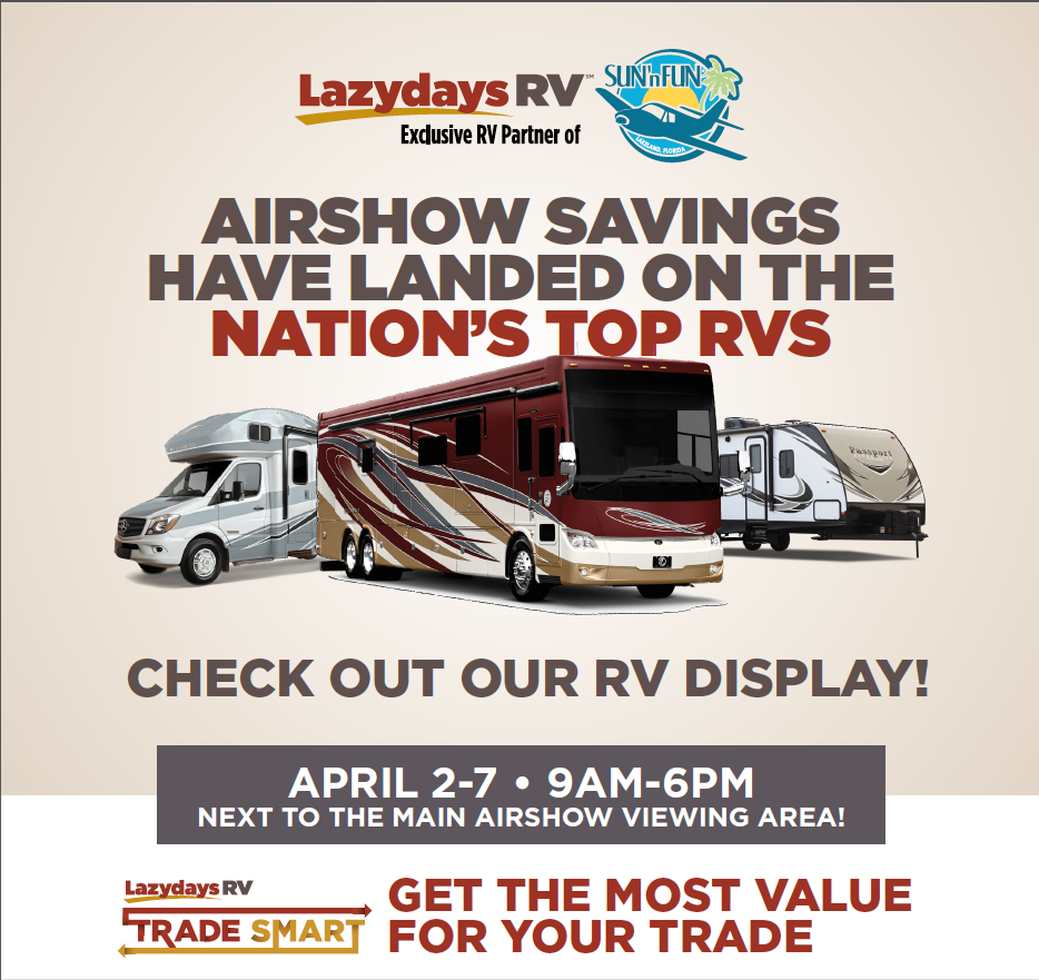 2019 Sun N' Fun International Fly-In & Expo | Lazydays RV