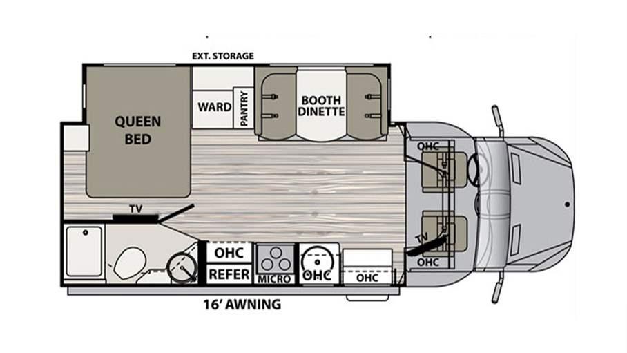 Dynamax Rv Floor Plans: 2018 Dynamax Isata 3 24FWM For Sale In Tampa, FL