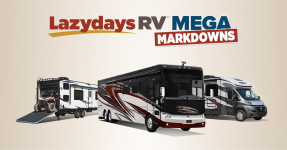 Enjoy Mega Markdowns at Lazydays RV!