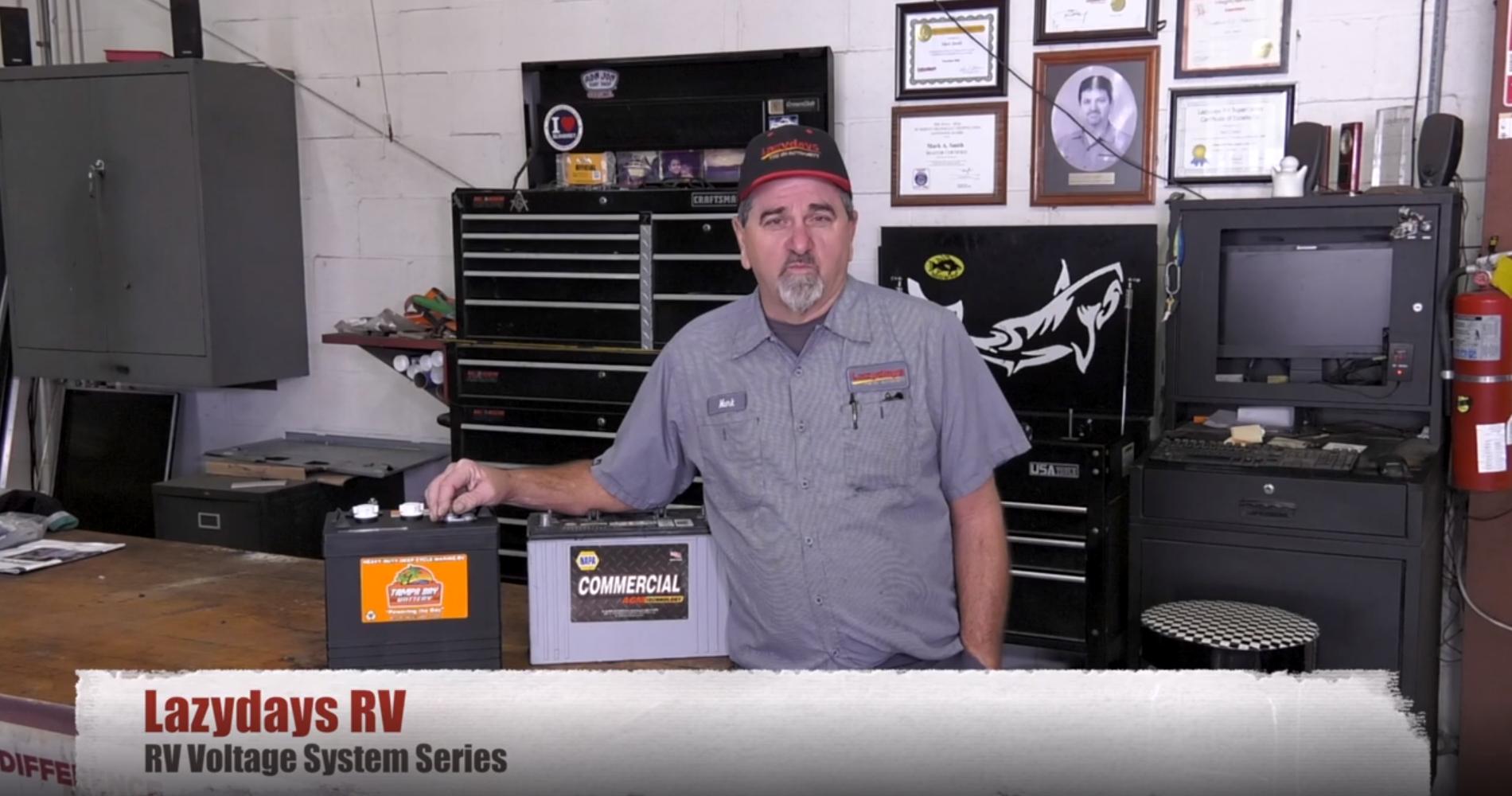Lazydays RV master certified technician Mark Smith