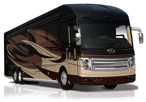 American Coach Eagle Crown Club Class A Motorhomes