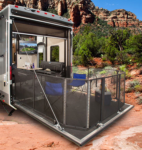 The 2016 Highlander Toy Hauler Travel Trailers Are Here