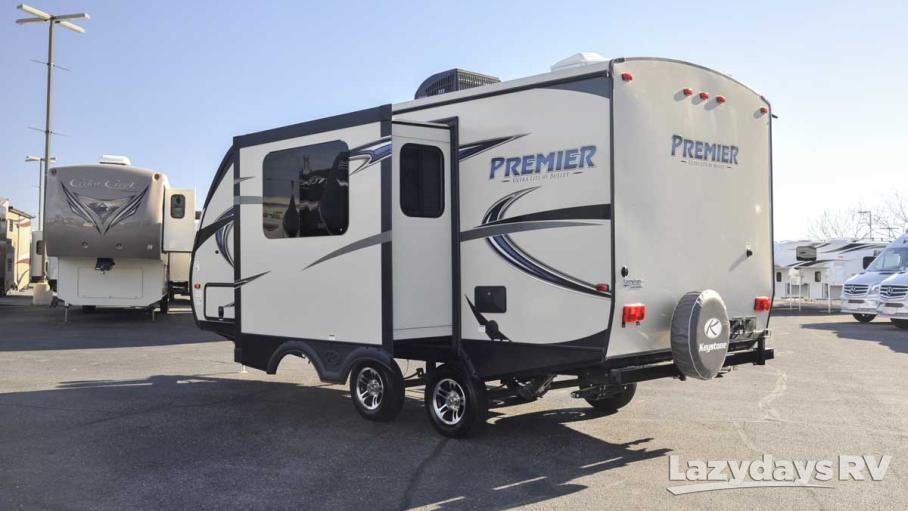 2016 Keystone RV Premier 19FBPR.