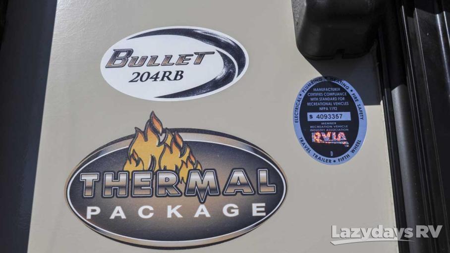 2016 Keystone RV Bullet Ultra Lite 204RBSWE