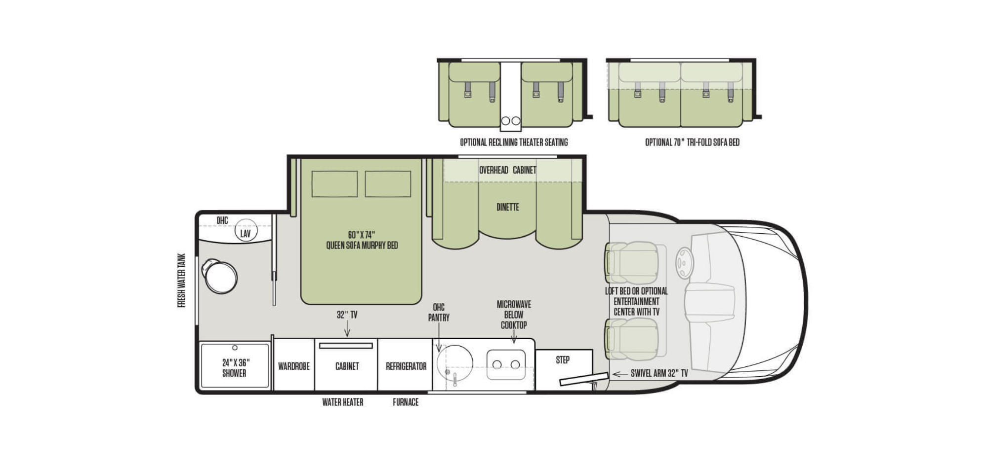 Winnebago Cl C Rv Floor Plans Carpet Vidalondon
