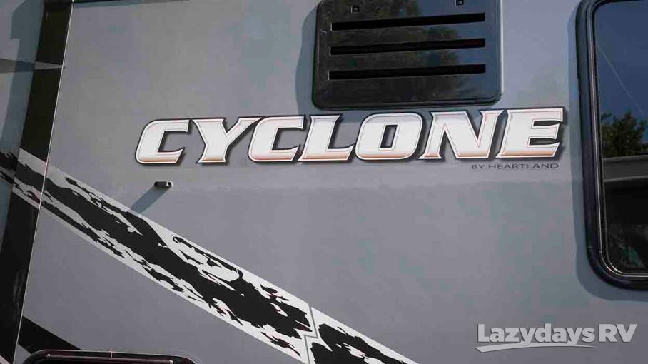 2015 Heartland Cyclone 4000
