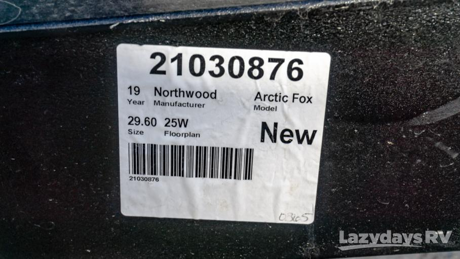 2019 Northwood Arctic Fox 25W