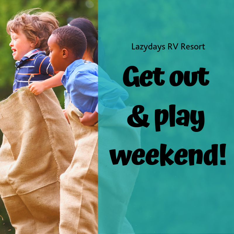 Get out & play weekend