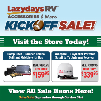 RV Accessories & More - Tampa, FL | RV Parts | Lazydays RV
