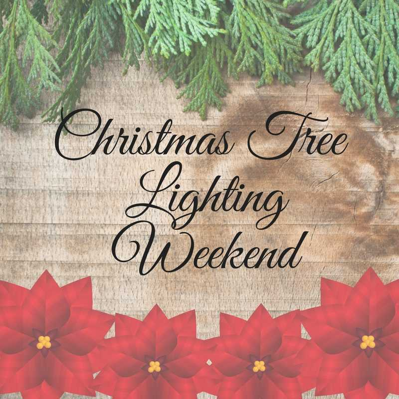 Christmas Tree Lighting Weekend
