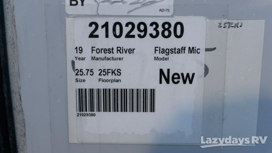 2019 Forest River Flagstaff Micro Lite 25FKS