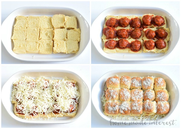 Meatball Sliders | RV Tailgating Recipes