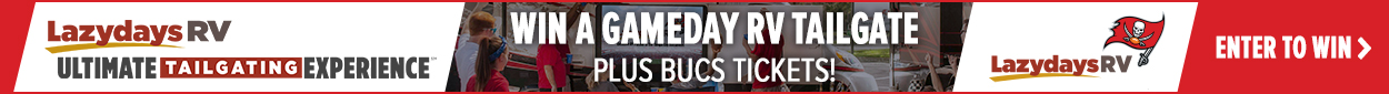 Bucs Ultimate Tailgating Sweepstakes Banner