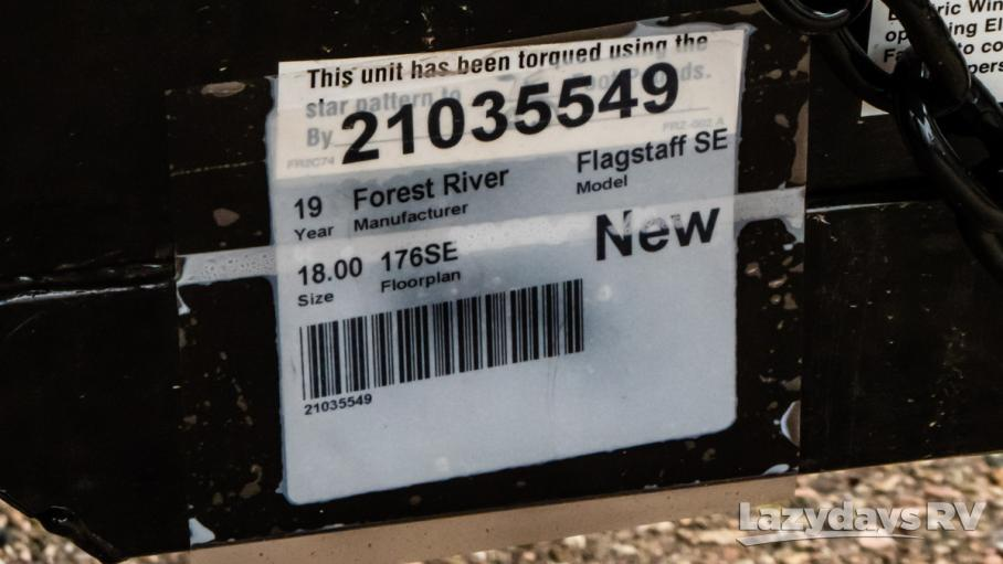 2019 Forest River Flagstaff SE
